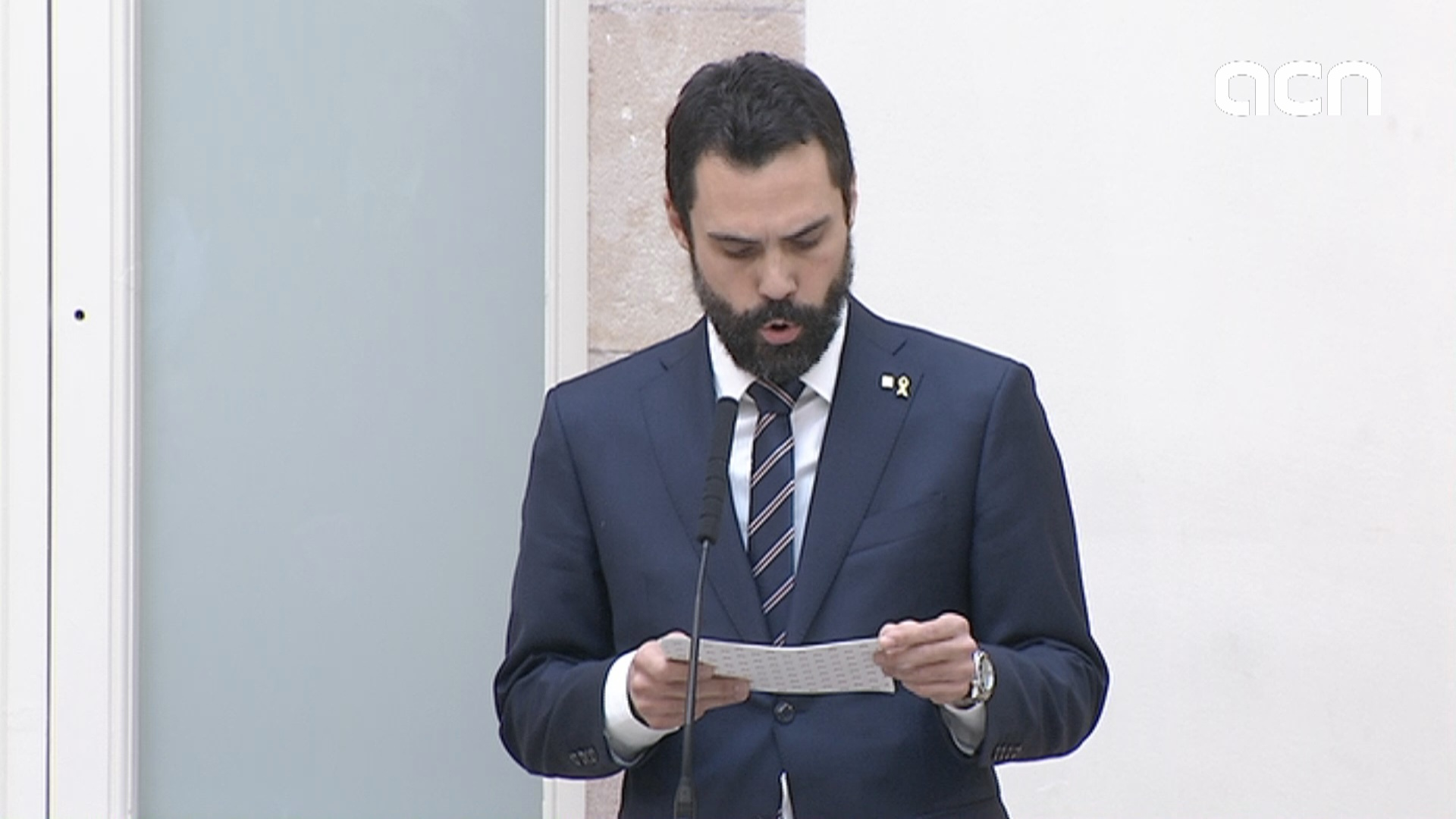 Roger Torrent condemns proposed sentences