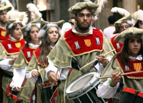 An image from Tortosa's Renaissance Festival (by ACN)