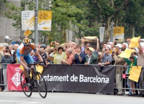 The Tour de France already came to Barcelona in 2009 (by A. Salamé)