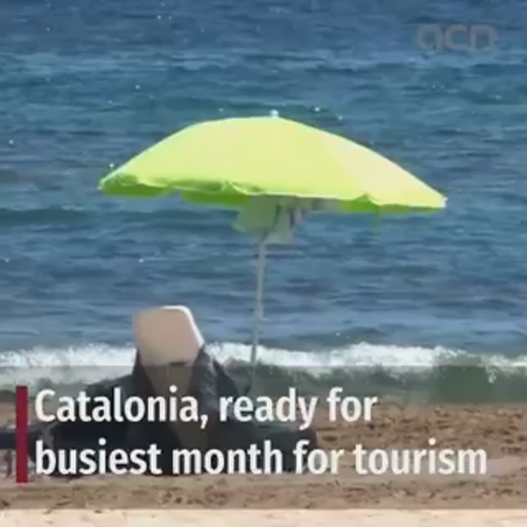 Catalonia, ready for busiest month for tourism