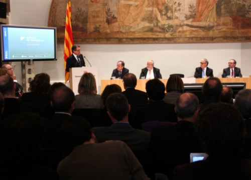 The presentation of Catalonia's Tax Administration (by ACN)