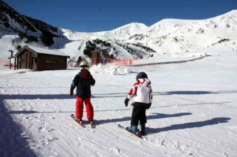 Vallter 2000 opened the season on Friday (by T. Tàpia)