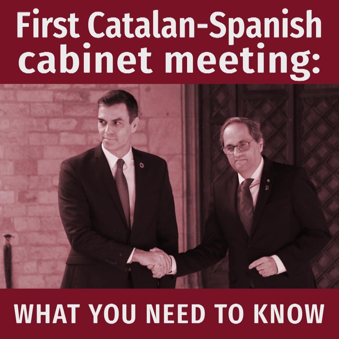 What you need to know about the breakthrough Catalan-Spanish cabinet meeting