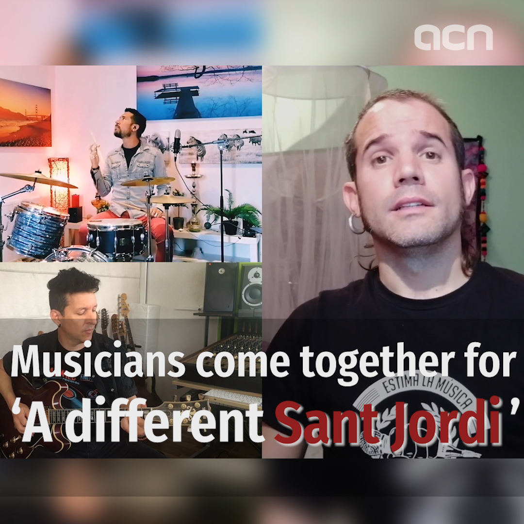 Musicians come together for 'A different Sant Jordi'