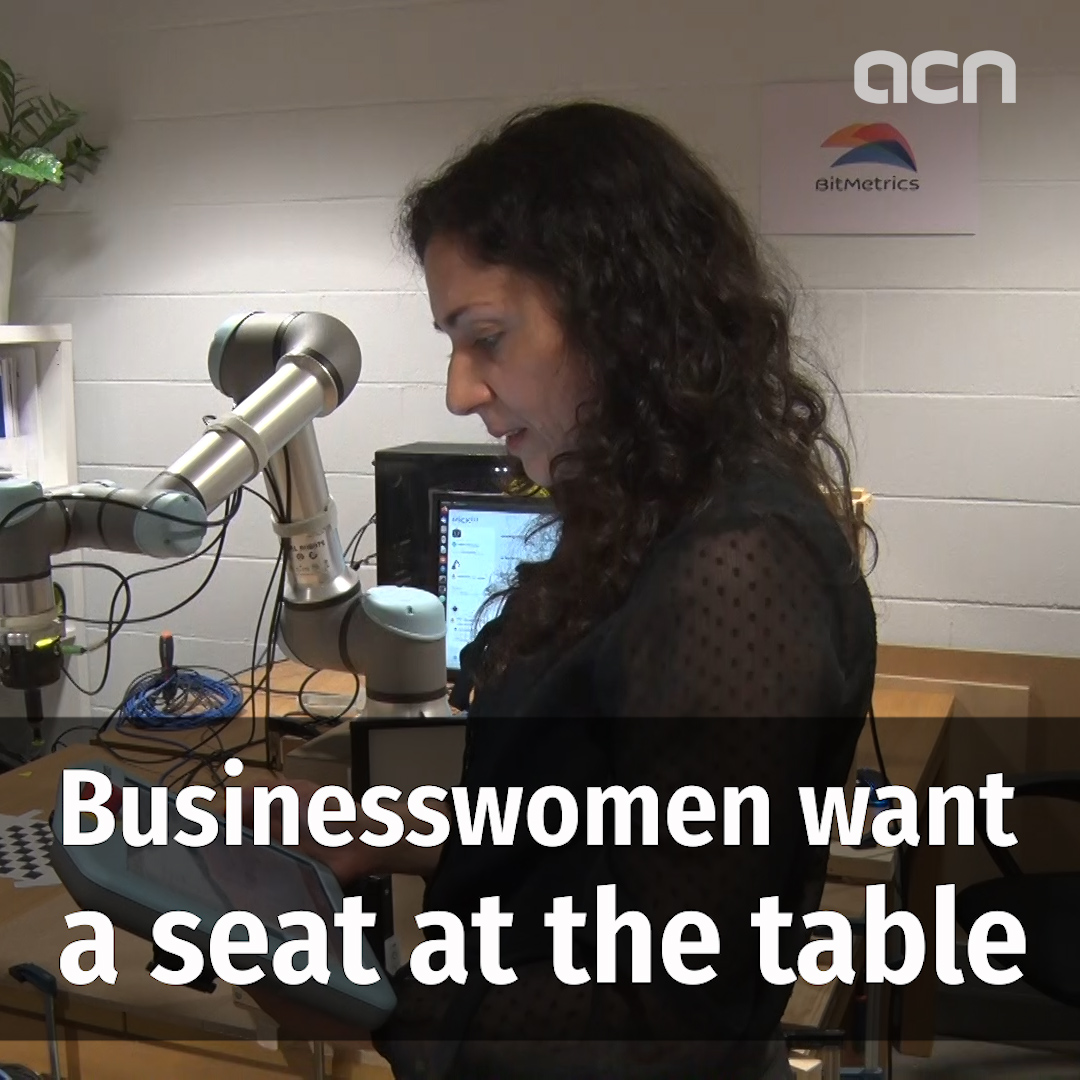 Businesswomen want a seat at the table