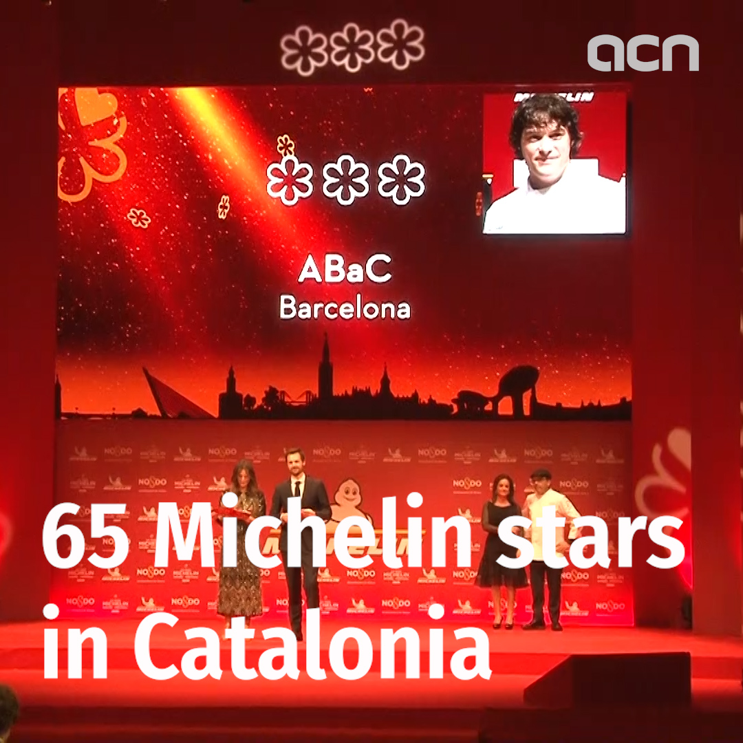 65 Michelin stars for Catalonia