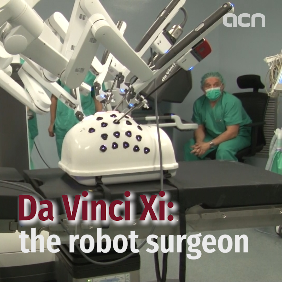 Da Vinci XI: The robot surgeon