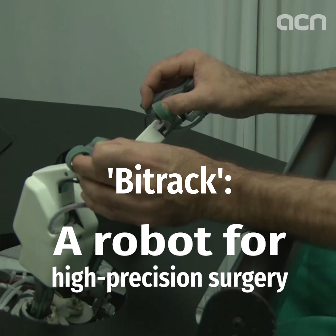 'Bitrack': A robot for high-precision surgery