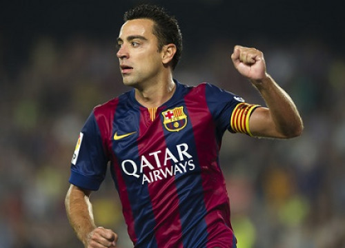 Xavi Hernández has been Barça's greatest midfielder so far (by FC Barcelona)