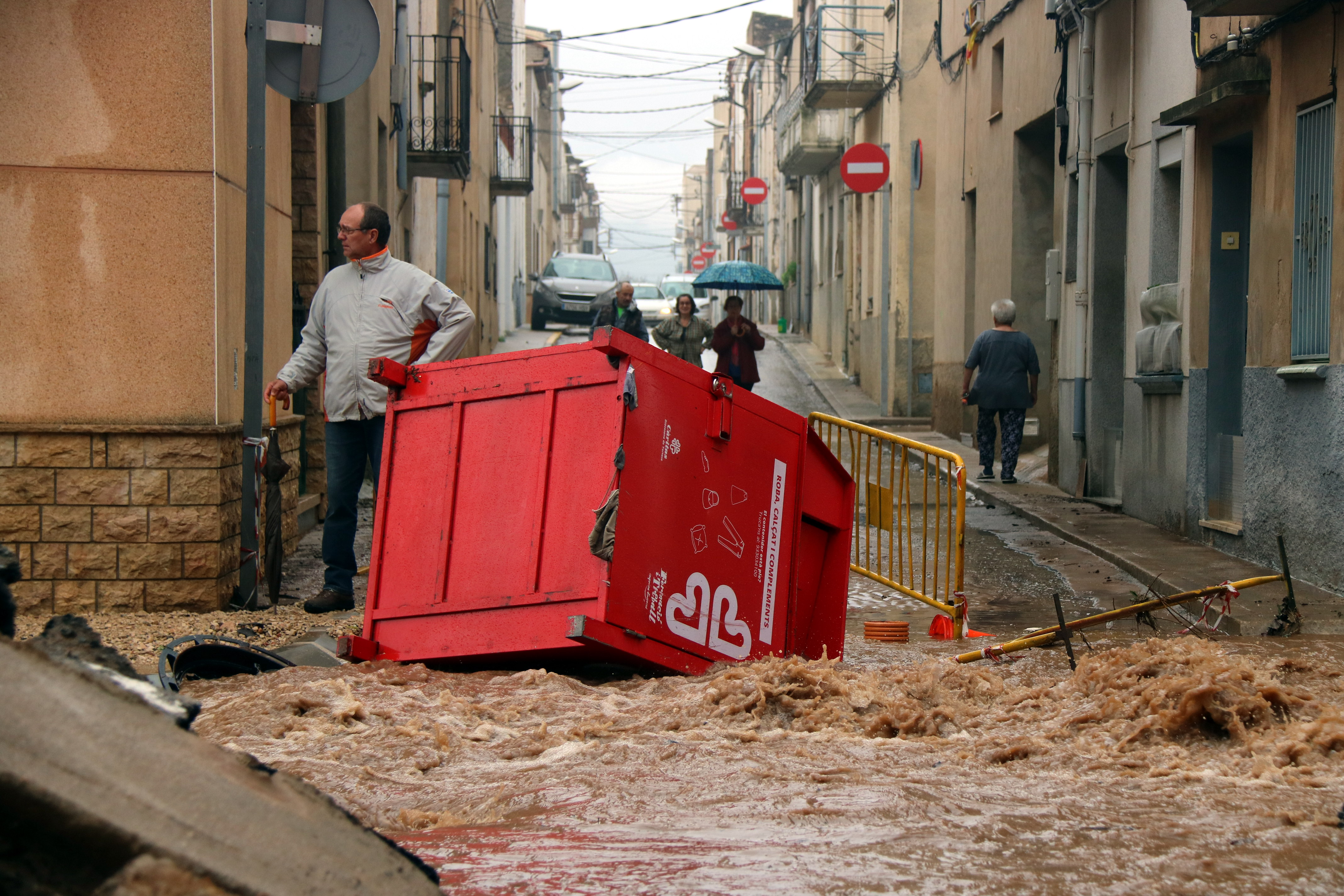 Heavy rains cause disruption in Catalonia (by ACN)