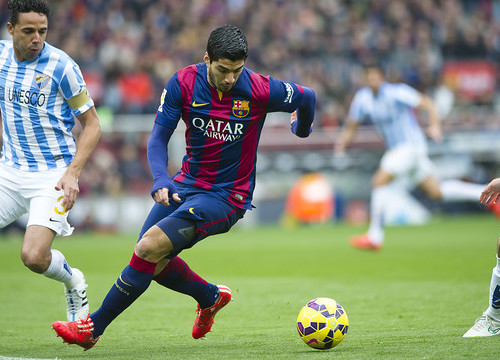 Luis Suárez in the game at Camp Nou last season (by German Parga / FCB)