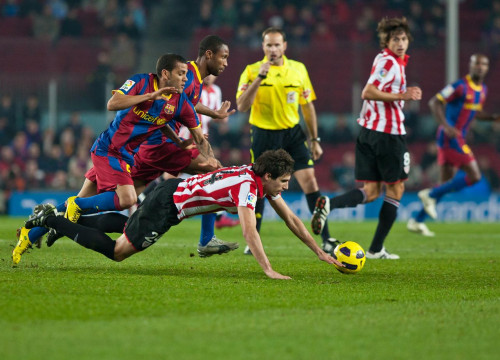 Barça was not able to score against the Athletic Club (by FC Barcelona)