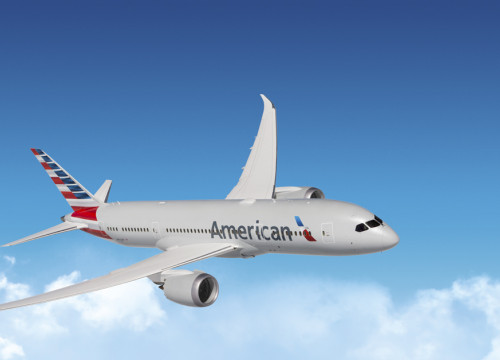 An American Airlines flight (by American Airlines)