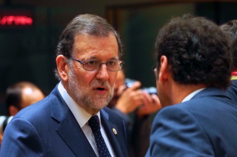 The Spanish President, Mariano Rajoy (by ACN)