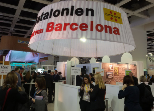 The Catalan stand at ITB Berlin (by ACN)