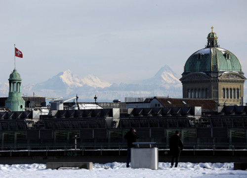 Switzerland's Palace of Justice (by Reuters)