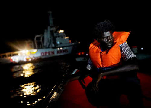 A Picture and its Story: Spanish rescue boat finds life and death off Libya coast ( REUTERS/Juan Medina)