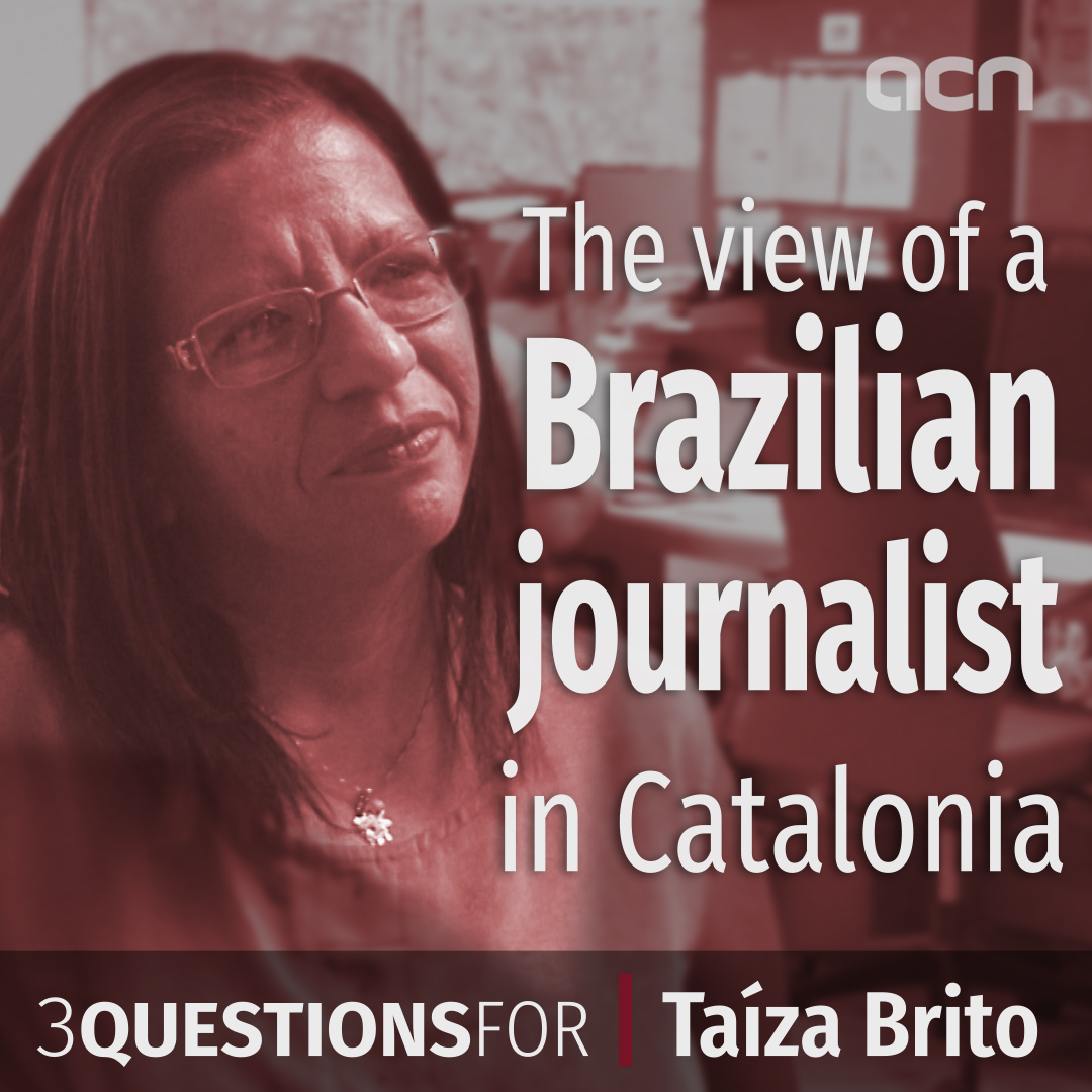 The view of a Brazilian journalist in Catalonia