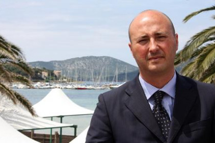 Stefano Lubrano, president of Cofindustria, the North Sardinia Industrial association