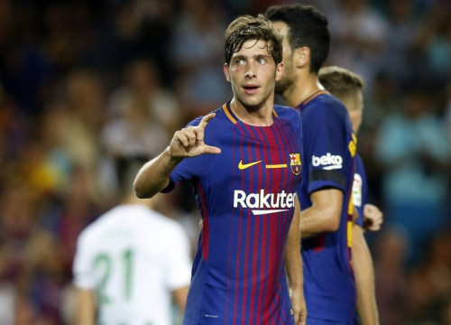 Sergi Roberto's goal clinched the win (by Miguel Ruiz - FCB)