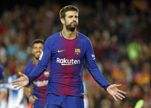 Gerard Piqué is one game away from making his 250th La Liga appearance with Barça (by Miquel Ruiz - FCB)