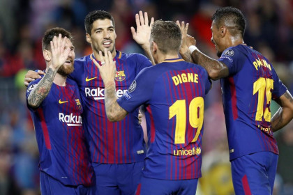Messi and Digne score the second and third to secure victory (by Miguel Ruiz)