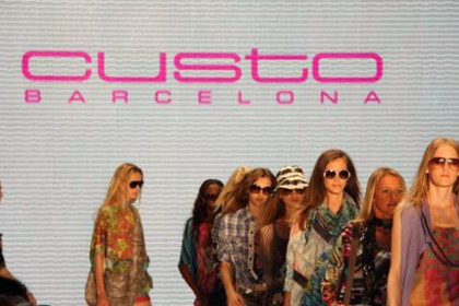 Custo's Spring-Summer collection 2011 showcased at the Berlin Fashion Week