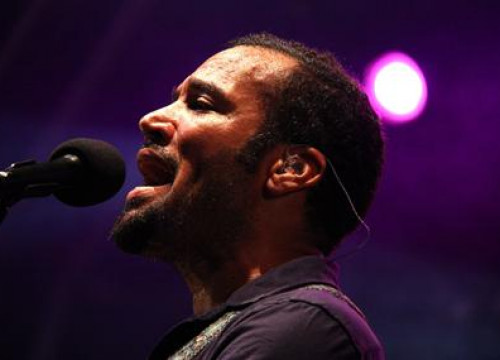 The indie folk American star, Ben Harper at his concert in Barcelona