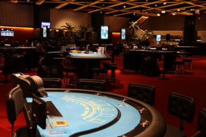 One of the rooms of the new casino in Lloret de Mar