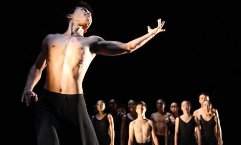 'Wild Cursive' from the choreographer Lin Hwai Min in this edition of the Grec Festival