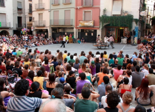 One of the performances in FiraTàrrega last year (by ACN)