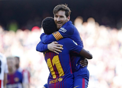 Messi has now scored in 6 consectutive games (by Miguel Ruiz, FCB)