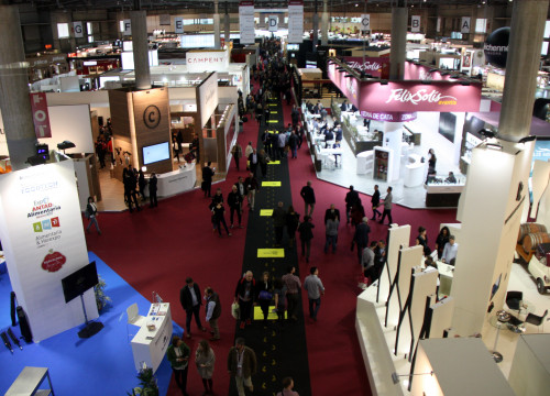 Alimentaria trade fair at Barcelona's Gran Via Fira (by ACN)