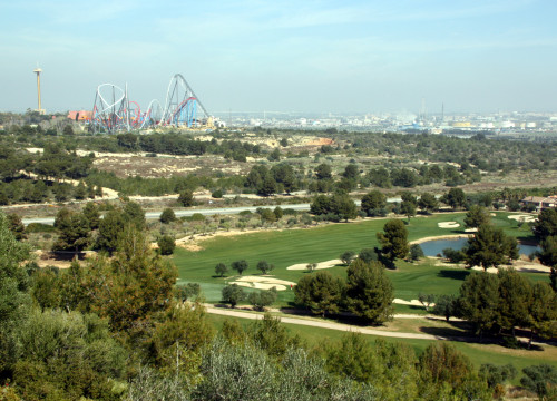 Land where 'BCN World' should be built, near PortAventura theme Park, in Vila-Seca and Salou (by ACN)