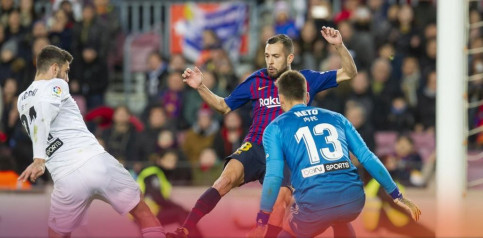 Barça have played out two draws with Valencia so far this season