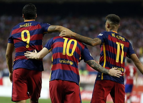 Suárez, Messi and Neymar will be together again this Saturday (by FCB)