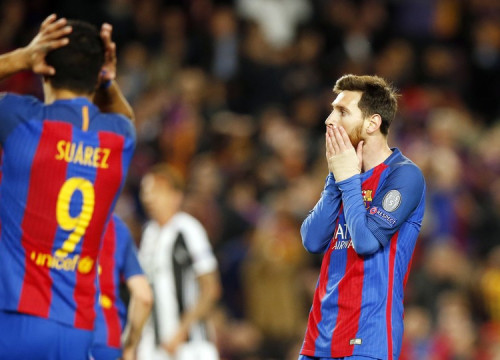 Messi and Suárez gave it their all but there was no getting past the Italian defence (by FCB)