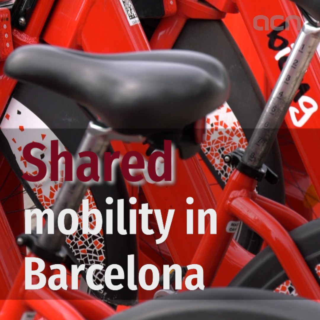 Shared mobility in Barcelona