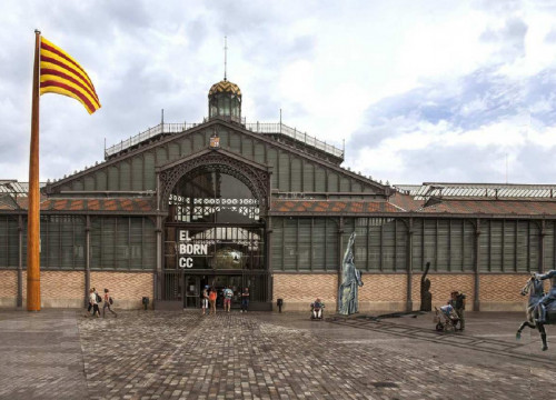 Project of the exhibition 'Franco-Victory-Republic: impunity and urban space' to be displayed at Barcelona's Born Centre Cultural (by ACN)