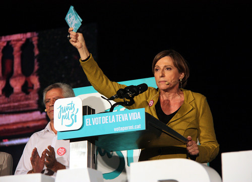 Carme Forcadell is former President of Catalan National Assembly and number two of pro-independence unitary list 'Junts Pel Si'