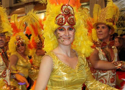 One of the troupes of Sitges Carnival (by ACN)