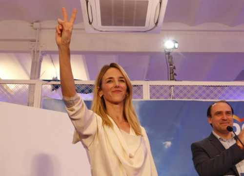 Cayetana Álvarez de Toledo is the PP's top candidate in Barcelona (by ACN)