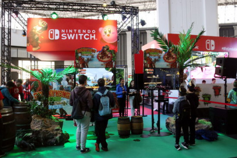 The Nintendo zone at last year's convention (by ACN)