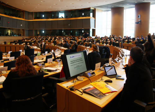 Image of the European Parliament's Committee on freedom justice and home affairs (by ACN)