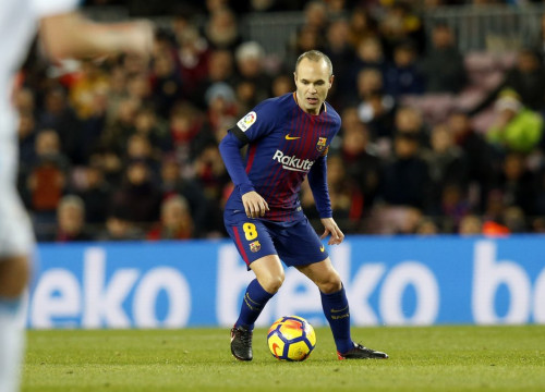 FC Barcelona player Andrés Iniesta (by FCB)