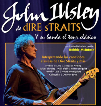 Tickets for John Illsley's autumn tour of Spain are now on sale
