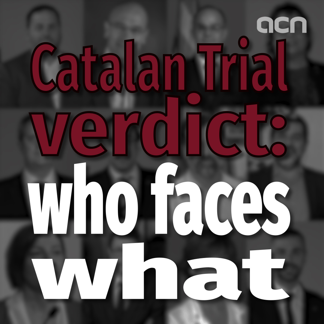 Catalan trial verdict: who faces what