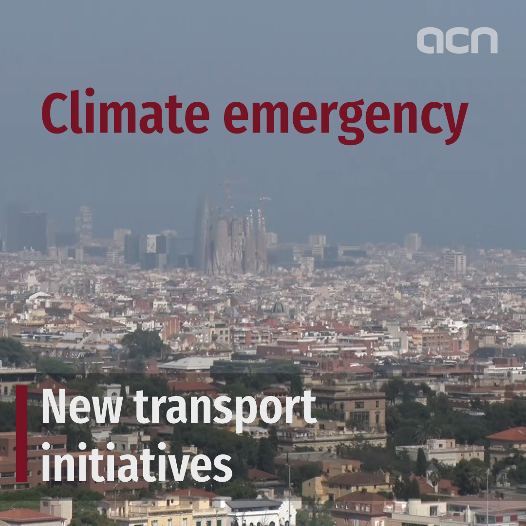 Climate emergency: new transport initiatives