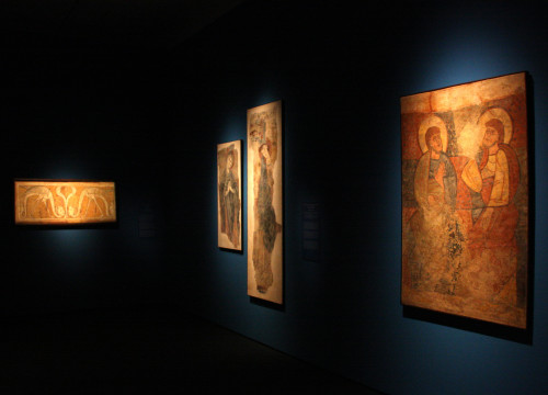 One of the exhibitions at the National Art Museum of Catalonia (MNAC)