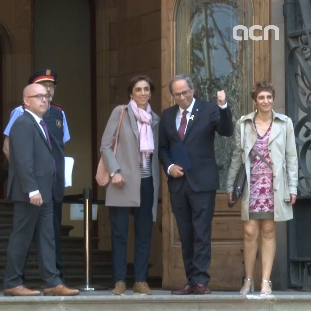 15-May-19 TV News in 100 Seconds: 'President Torra appears in court over yellow ribbon row'